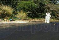 Al sitio se constituyeron los elementos de la Policía Michoacán, así como de la Policía Ministerial, confirmado el reporte por lo que fue acordonada la zona para preservar la escena del crimen
