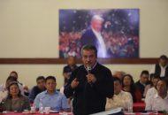 Morón Orozco instó a todos los presentes a reflexionar y dialogar el papel, que, desde su trinchera, deben de tener todos los individuos para lograr una transformación del país perfecta