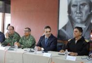 """""""En Michoacán no descansaremos ni un instante para seguir trabajando en velar por la seguridad de las michoacanas y los michoacanos"""", reiteró Aureoles Conejo"""