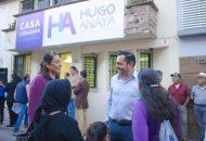 Anaya Ávila dejó en claro que la Casa Ciudadana está al servicio de todos los habitantes del Distrito 01, quienes encontrarán un eco positivo a sus inquietudes y solicitudes
