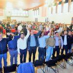 Asistieron dirigentes, alcaldes, diputados y liderazgos del Morena, del PT y del PES