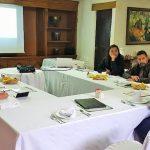 Participaron en esta reunión Sergio Pimentel representando la delegación de MORENA en él estado, Alfredo Ramírez por el congreso local, Francisco Huacuz por el congreso federal y Víctor Báez en representación de los presidentes de MORENA