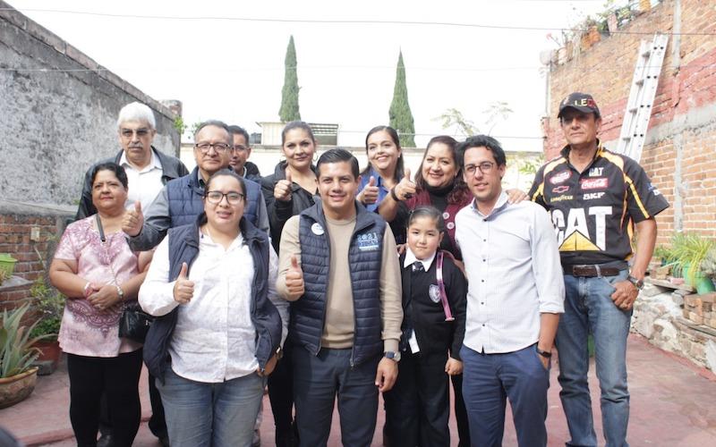 Los michoacanos necesitan un partido político que represente sus ideales y pensamientos, el PAN estará abierto para escuchar propuestas: Óscar Escobar Ledesma