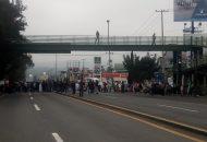 En Morelia se tienen reportes de bloqueos en la Salida a Salamanca, la Salida a Charo (a la altura del Conalep) y la Salida a Pátzcuaro