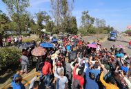 """Los manifestantes se reunirán, una vez más, en la salida a Charo, a Salamanca, a Pátzcuaro y a Quiroga desde las 9 de la mañana del próximo lunes 17 de diciembre y de ahí, comenzar con la marcha que han llamado, """"de pies cansados"""""""