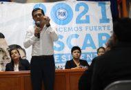 Más de 5 mil panistas de Michoacán han escucharon el mensaje directo de Óscar Escobar Ledesma durante estos 26 días de campaña