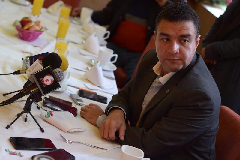 Pérez Estrada destacó la capacitación que ofreció Canacintra Morelia a poco más de 5 000 trabajadores de la ciudad y municipios cercanos, lo anterior mediante los 50 cursos que ofertó al interior de la cámara