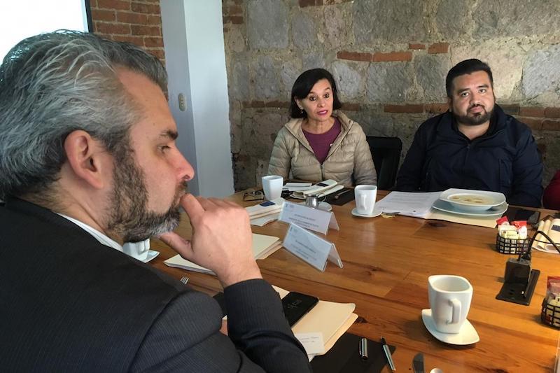 Cuando se trata de apoyar a la UMSNH no debe haber distinciones de partidos ni colores, afirma la nicolaita Ireri Suazo