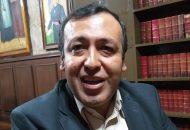 """""""Si un aspirante a rector dice que resolverá problemas de la UMSNH en cuatro años está exagerando, yo soy realista"""": Héctor Chávez Gutiérrez"""