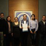 Óscar Escobar Ledesma dialogó con Sergio Benítez para escuchar sus ideas y propuestas e incluirlas en el proyecto, como muestra de la unidad y el respeto hacia la militancia