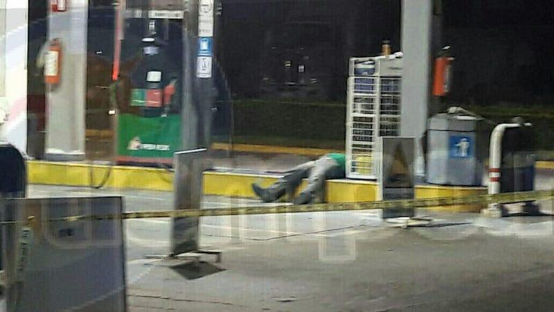 """Los hechos se registraron en la estación de gasolina denominada """"Ejidal"""" ubicada sobre la Avenida Las Palmas"""