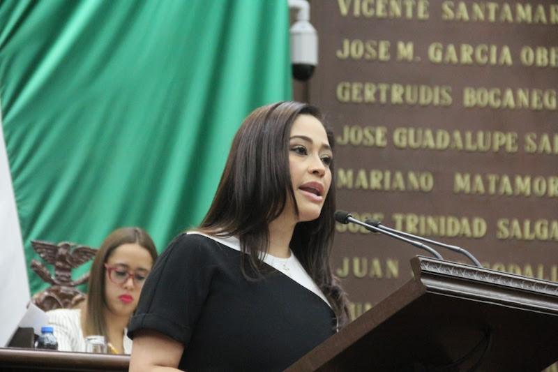 Este miércoles la legisladora presentó una iniciativa para reformar las leyes de Responsabilidad Ambiental para el Estado