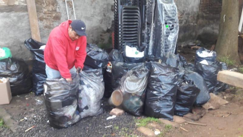 Baltierra Sánchez, señaló que se espera que el día de mañana 26 de diciembre, la cantidad de residuos aumente, ya que es cuando la ciudadanía aprovecha para tirar su basura