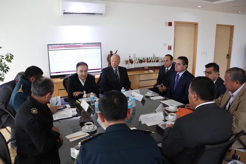 Durante el encuentro, el mandatario estatal expuso que, gracias al esfuerzo coordinado entre los tres órdenes de gobierno y con el apoyo de las Fuerzas Armadas, hoy la entidad presenta otro escenario