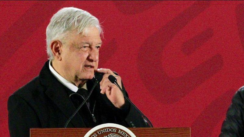 """López Obrador argumentó que su administración lucha por un cambio por la vía pacífica por lo que """"nunca jamás actuaríamos en contra de nadie"""""""