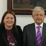 """Cristina Portillo comentó que el presidente aseguró que se va a presentar toda la información, porque """"… se tiene que transparentar todo, para que no haya ninguna sospecha"""""""