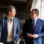 Aureoles Conejo y Moctezuma Barragán externaron sus coincidencias e inquietudes para lograr un nuevo convenio educativo Estado-Federación