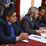 Hernández Vázquez explicó que en la mesa de diálogo con los representantes campesinos se acordó el garantizar la real aplicación de los recursos destinados al campo