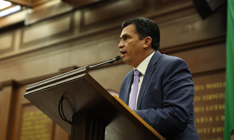Javier Estrada reiteró que el Grupo Parlamentario del PAN continuará en 2019 defendiendo, de forma decidida y sobretodo responsable, todos los intereses de los michoacanos y del Estado