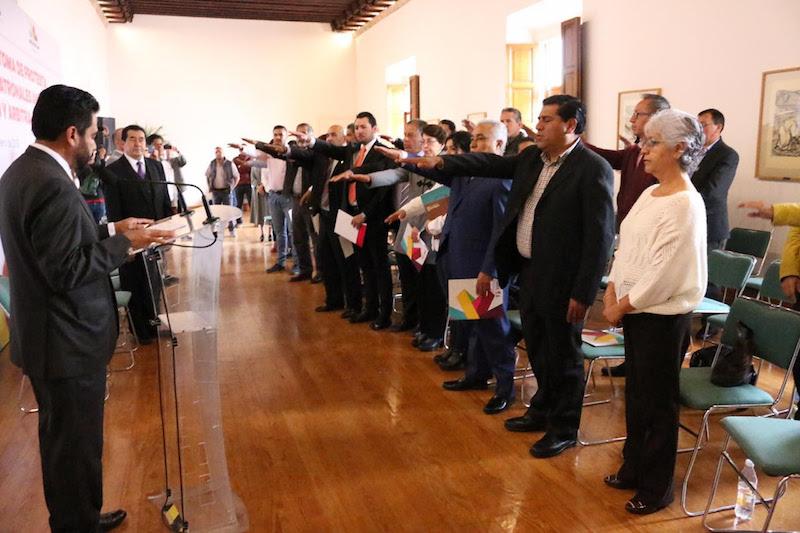 Hurtado Arévalo, señaló que con este evento no sólo se cumple con lo mandatado en la Ley Federal del Trabajo, sino que también se contribuye a la gobernabilidad y tranquilidad en la entidad