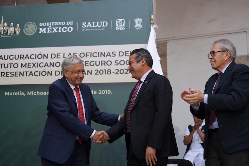 López Obrador inició oficialmente en Morelia el proceso de descentralización de las diversas dependencias gubernamentales del país