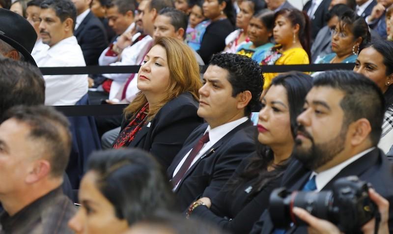 Cristina Portillo es presidenta de la Comisión de Migración en el Congreso del Estado