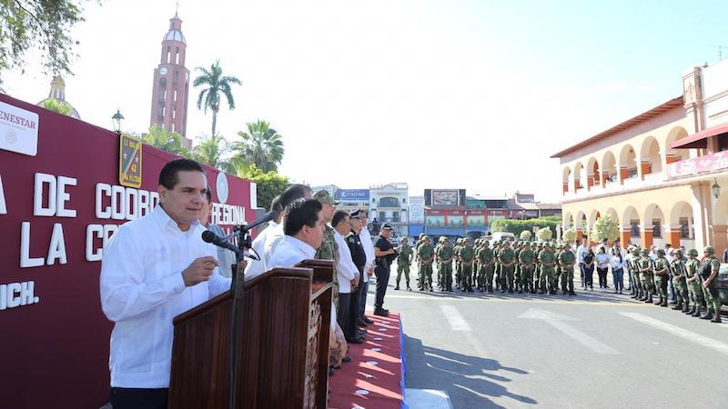 A la brevedad se desplegarán también diversas acciones operativas, dentro de esta estrategia, en las regiones de Uruapan, Lázaro Cárdenas, Sahuayo, Zitácuaro y Zamora