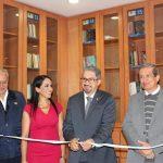 Se ubica en el edificio del Archivo General e Histórico y Hemeroteca Universitaria