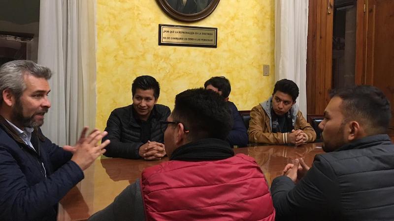 Con el programa Jóvenes Construyendo el Futuro, señaló Alfredo Ramírez, el Gobierno federal que encabeza Andrés Manuel López Obrador busca revertir la exclusión de ciudadanos entre 18 y 29 años de edad