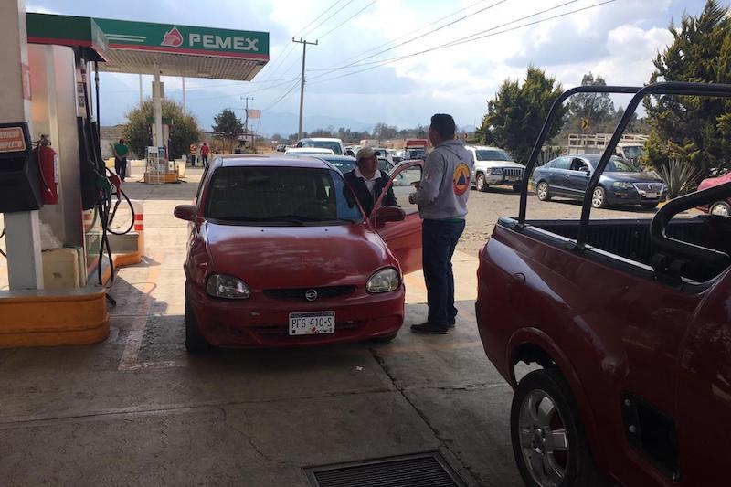 La Coordinación de Protección Civil mantiene la revisión de recipientes en las gasolineras
