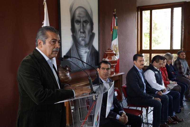 Morón Orozco se pronunció porque dichos actos no se vuelvan a repetir nunca en la historia del estado