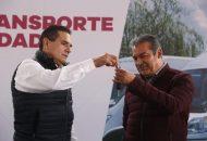 Suman 113 los municipios michoacanos con transporte para personas con discapacidad: Silvano Aureoles