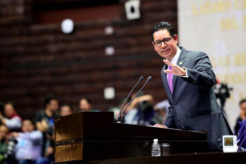 Pérez Negrón Ruiz aseguró que se plantea la construcción de la paz mediante un papel protagónico de la Guardia Nacional como una nueva fuerza institucional