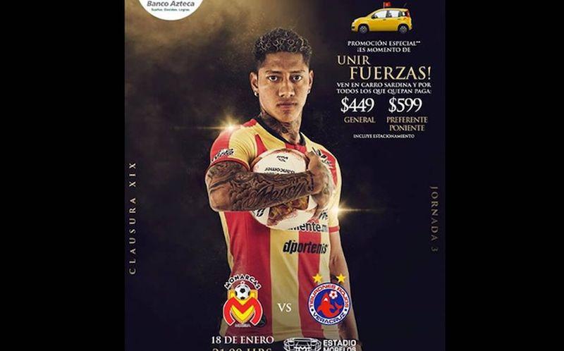 Monarcas recibirá a Veracruz la noche del viernes en el Estadio Morelos