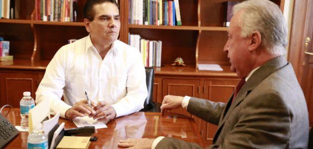 El objetivo de este encuentro fue el de seguir buscando el mecanismo que permita alcanzar un nuevo acuerdo de concurrencia entre el Gobierno del Estado y la Federación