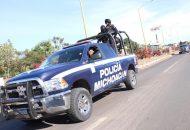 A la par, elementos del Ejército Mexicano, de la Policía Federal y Marina, realizan otras labores de prevención