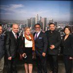 El diputado de la Comisión de Migración dio a conocer que en este conversatorio con paisanos radicados en Los Ángeles, California, participan varios diputados, con quienes coinciden en el impulso de propuestas legislativas