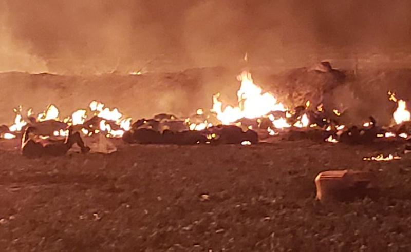 En su cuenta oficial de Twitter, el mandatario dio a conocer el balance de víctimas y acompañó las cifras con un video en el que sobrevuela el sitio de la explosión