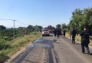 Las vías quedaron libres a la circulación, luego de que agentes policiales retiraran 16 unidades