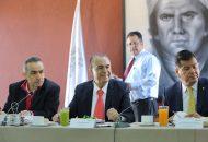 Sigala Páez conminó a que cada uno de los titulares, de las distintas áreas del gobierno, refuercen los trabajos, tal y como lo ha instruido el Gobernador Silvano Aureoles