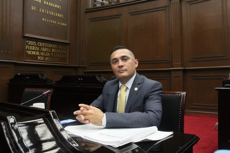 """""""Pareciera que el objetivo principal de Morena es desestabilizar a Michoacán; sin importar que estas tomas afecten a los sectores económicos y productivos y a la ciudadanía en general"""", enfatizó: Toledo Rangel"""