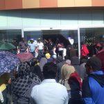 Los manifestantes exigen, además de los pagos pendientes, una auditoría a la Secretaría de Educación en el Estado
