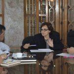 Permanente, coordinación de Gabinete Social: Diana Carpio