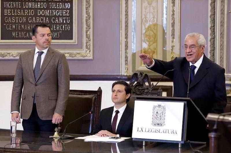 Pacheco Pulido, de 84 años de edad y la principal propuesta impulsada por el partido Morena, recibió de los legisladores 40 votos y una abstención