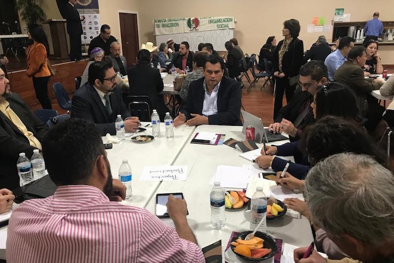 La Comisión de Migración del Congreso del Estado asistió a una sesión del Concejo de Los Ángeles, California