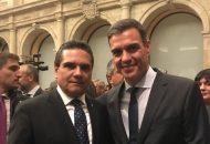 El mandatario estatal asistió al evento de bienvenida Turismo y Excelencia donde compartió con el Presidente español, ministros y representantes de organizaciones internacionales de turismo, las características principales de Michoacán