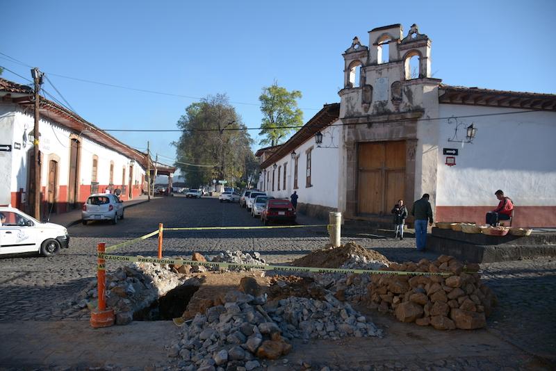 Este fin de semana se normalizará el servicio que afectó colonias y Centro Histórico, dice el gobierno municipal