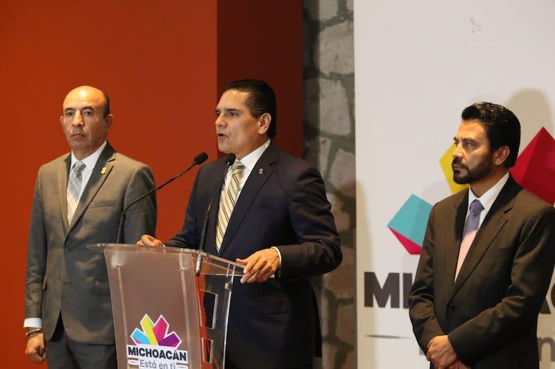 Necesaria la reunión para revisar la agenda de Michoacán y hacer acuerdos: Aureoles Conejo