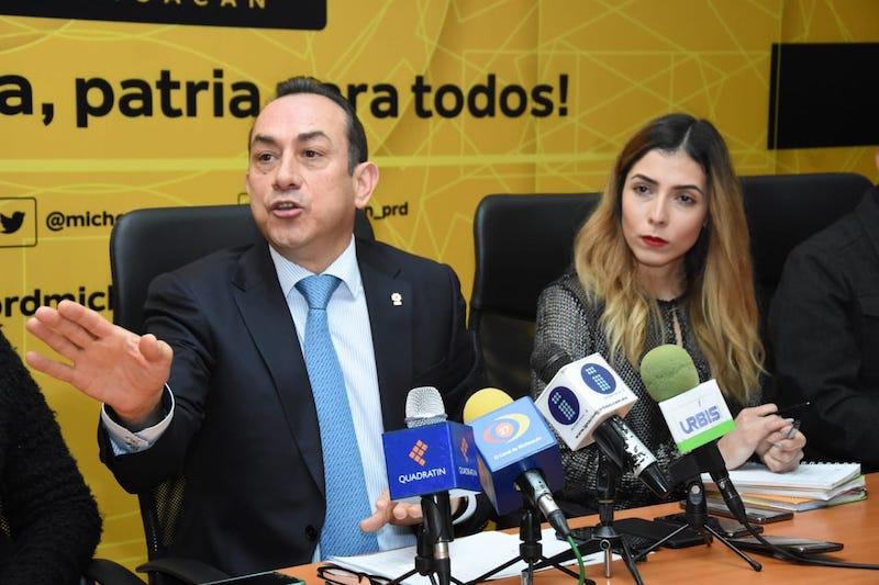 Que sea a través de la ley como se determinen las sanciones contra los responsables de paralizar las actividades en Michoacán: Soto Sánchez