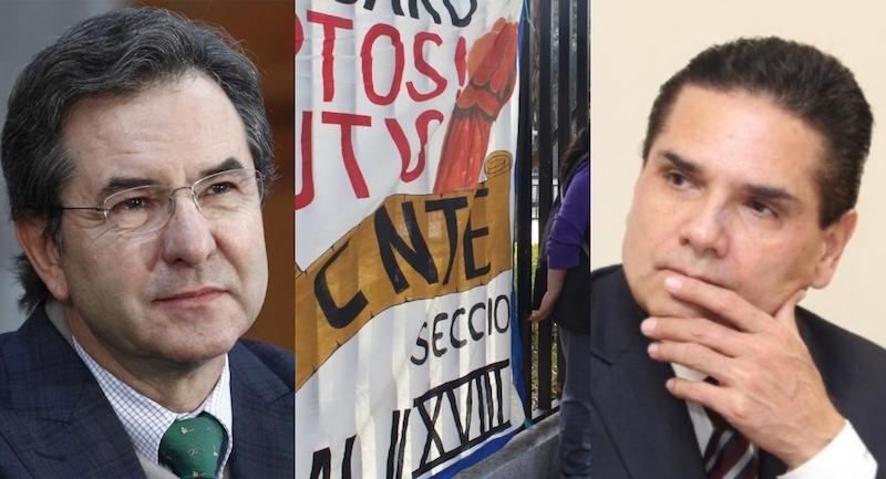 Acuerdan Silvano y SEP ruta para solucionar conflicto magisterial